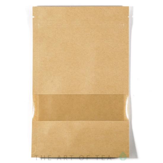 Пакет зип с окном, средний, 14*22 см