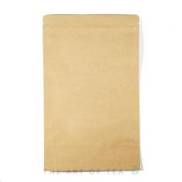 Пакет зип, крафт-фольга, большие, 18*30 см