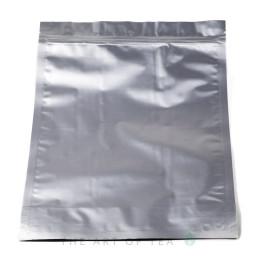 Пакет зип большой, металлик, 26*35 см