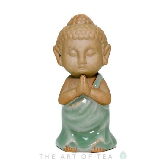 Чайная фигурка Монах, глина, глазурь