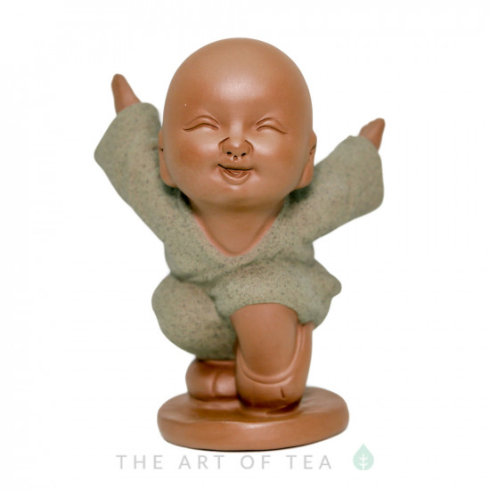 Чайная фигурка Ушу #3, глина
