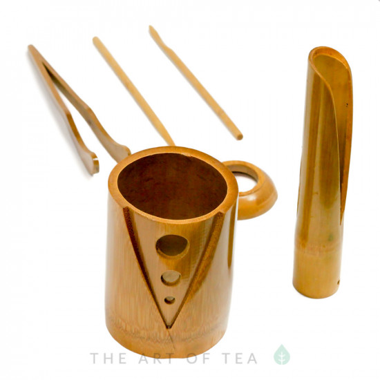 Инструменты для чайной церемонии #7, бамбук