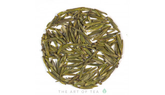Свежий зелёный и жёлтый чай
