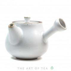 Чайник с боковой ручкой, белый, 70 мл
