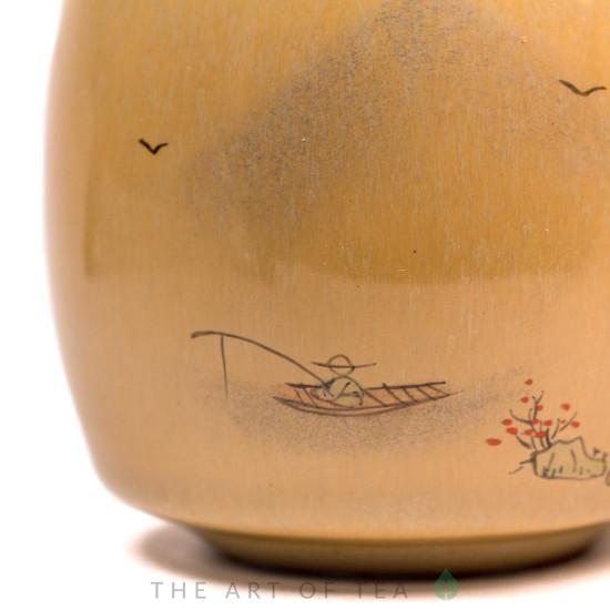 Пиала Рыбак 472, ручная роспись, 70 мл