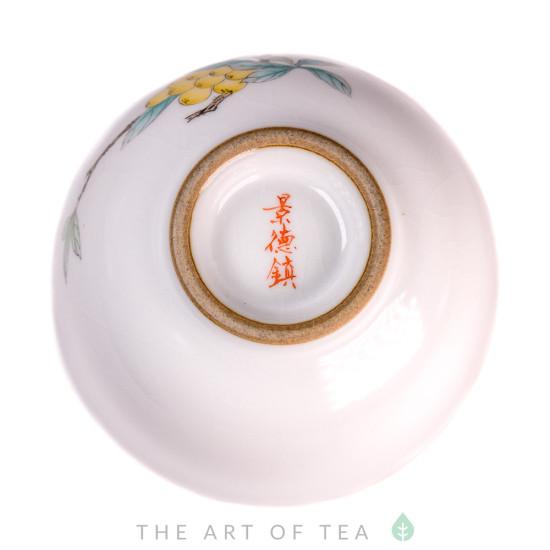 Пиала Цзиндэчжэнь 482, ручная роспись, 90 мл