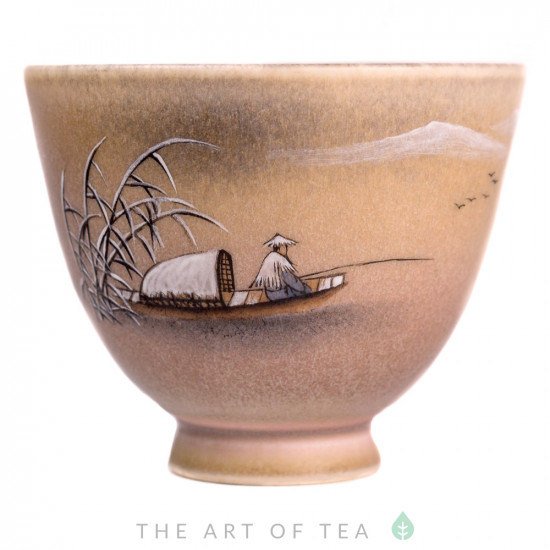 Пиала Цзиндэчжэнь 478, ручная роспись, 90 мл