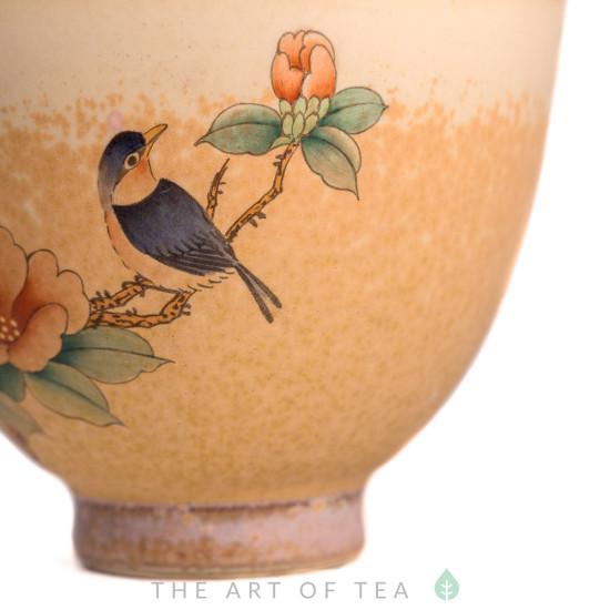 Пиала Цзиндэчжэнь 477, ручная роспись, 90 мл