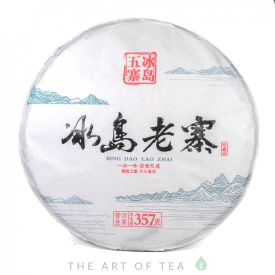Биндао Лао Чжай, шэн пуэр, 2019 г., 357 гр