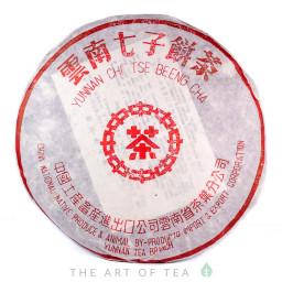 Красная печать, Линцан, шэн пуэр, 2003 г., 380 гр