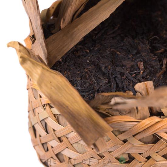 Люань Хэй Ча в корзинке, выдержанная, 2009