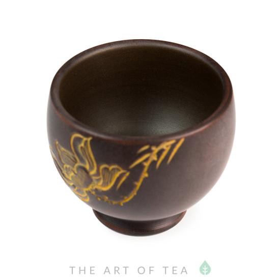 Пиала Цветок лотоса 506, циньчжоуская керамика, 80 мл
