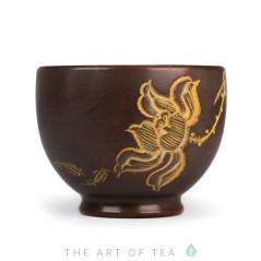 Пиала Цветок лотоса 508, циньчжоуская керамика, 80 мл