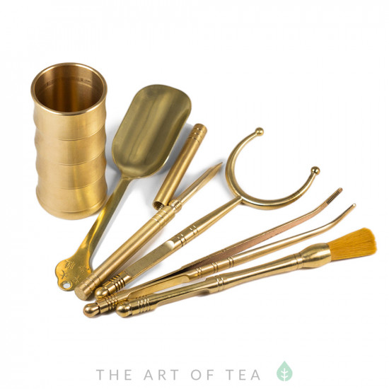 Инструменты для чайной церемонии, латунь