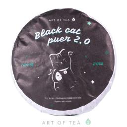 Black Cat Puer 2.0, 2020 г., блин 100 гр.