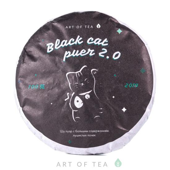 Black Cat Puer 2.0, 2020 г, блин 100 гр