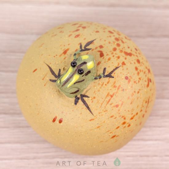 Фигурка Лягушка на камне №3, 4 см