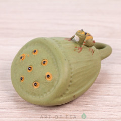 Фигурка Лягушка на лотосе, 4 см
