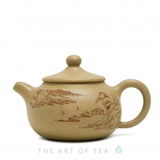 Чайник из исинской глины т139, 150 мл