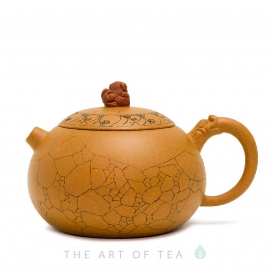 Чайник из исинской глины т198, 160 мл