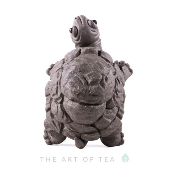 Чайная фигурка Черепаха, исинская глина