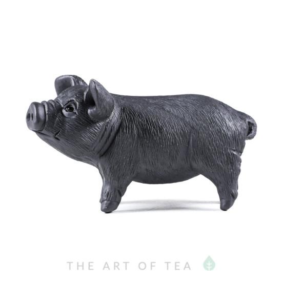 Чайная фигурка Поросенок, глина