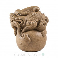 Фигурка Песчаный дракон, глина