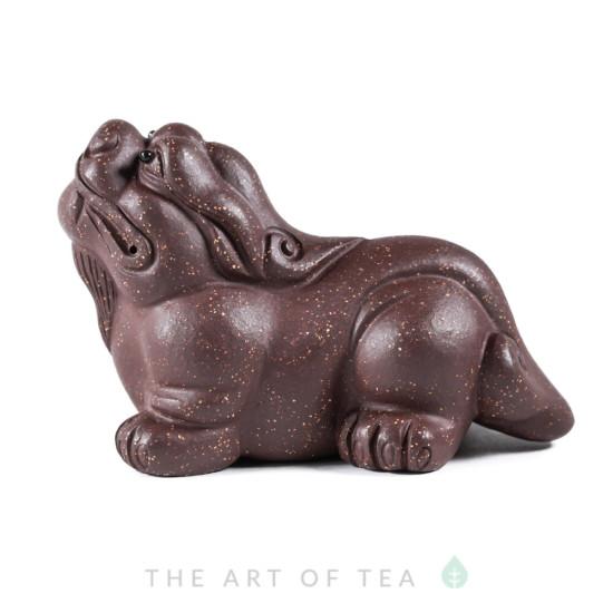 Чайная фигурка Задумчивый Пи Сю, глина