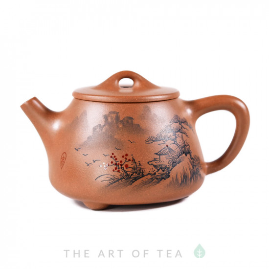 Чайник из исинской глины т309, 175 мл
