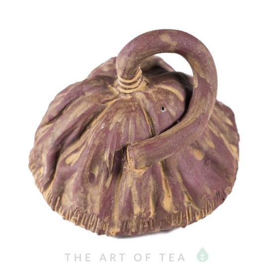 Чайная фигурка Коробочка лотоса, большая, глина