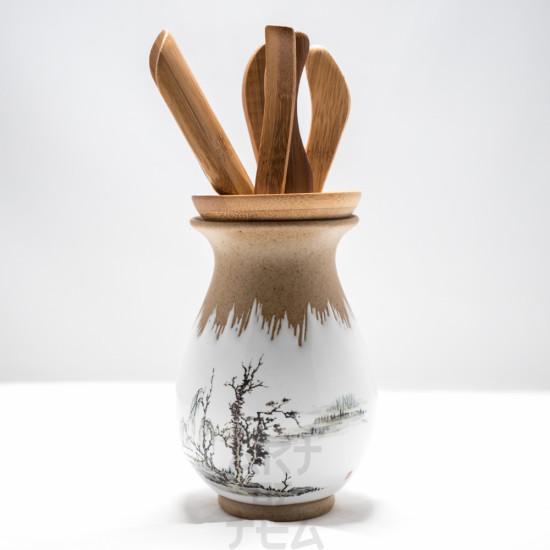 Инструменты для чайной церемонии, керамика