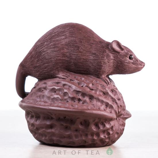 Фигурка Мышь на орехе, 6 см