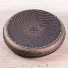 Чайный пруд, высокотемпературный обжиг, 16 см