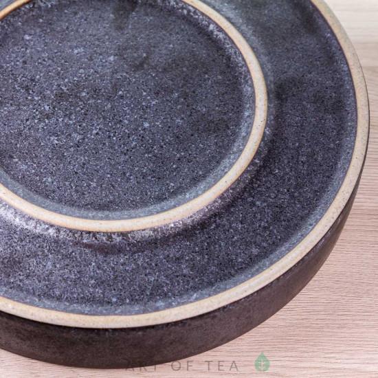 Чабань Лёд, керамика, бамбук, 20 см