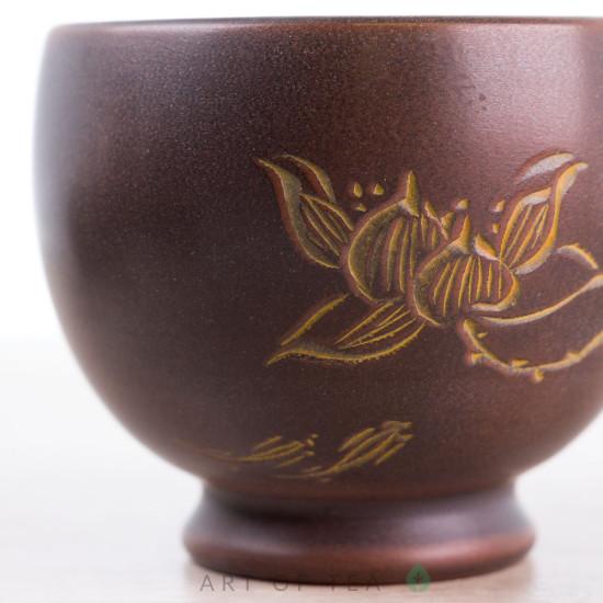 Пиала Цветок лотоса 690, циньчжоуская керамика, 80 мл