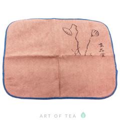 Чайное полотенце Ростки лотоса, 30*30 см