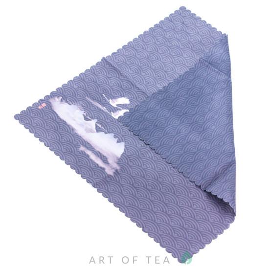 Чайное полотенце Журавли, 30*30 см