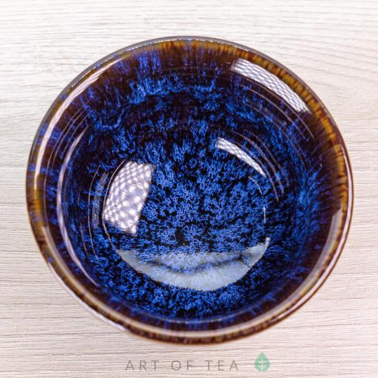 Пиала Космос 745, глина, глазурь, 110 мл