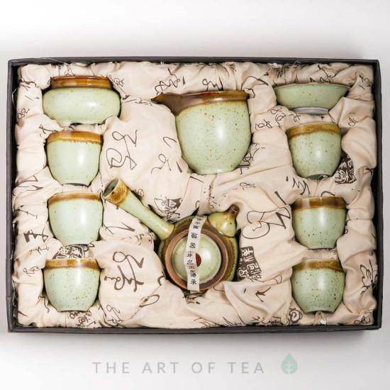 Набор для чайной церемонии s23, Тайваньский Стиль, 9 предметов