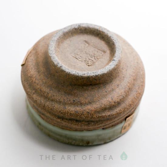 Пиала глина, глазурь жу яо R2, 60 мл