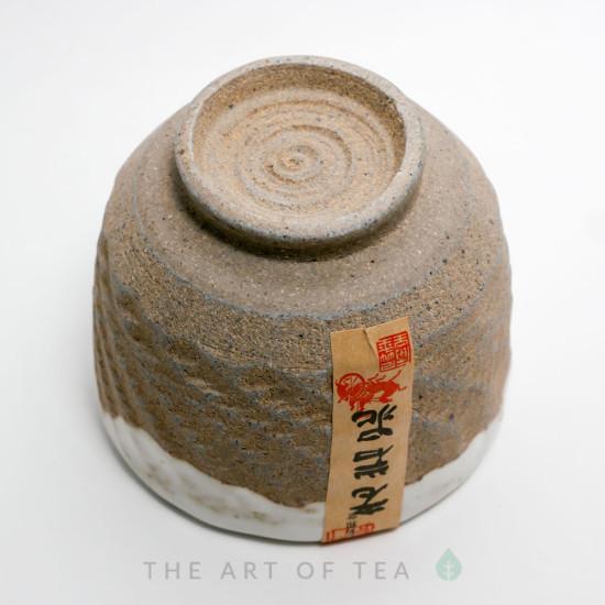 Пиала глина, глазурь жу яо R4, 105 мл