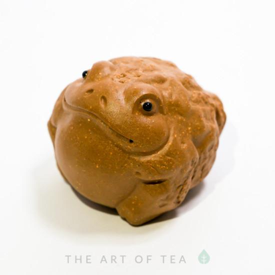 Чайная фигурка Жаба малая  #1, глина