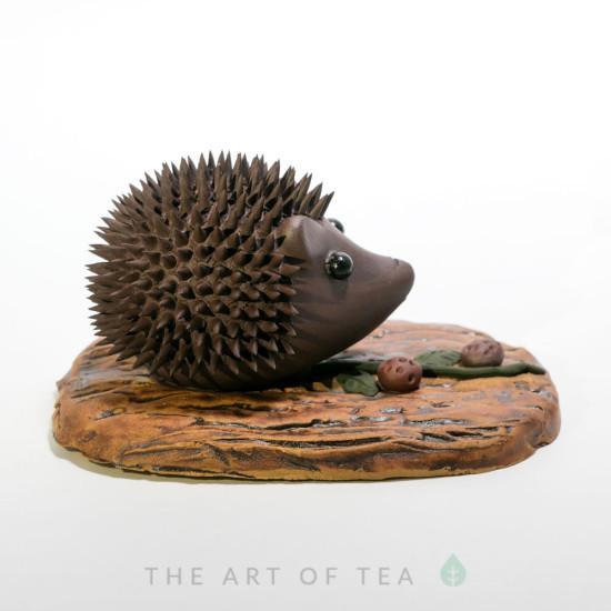 Чайная фигурка Ежик, глина