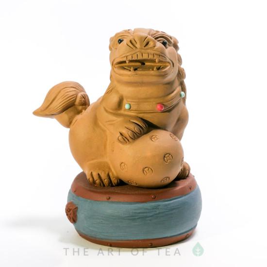Чайная фигурка Лев 2, глина