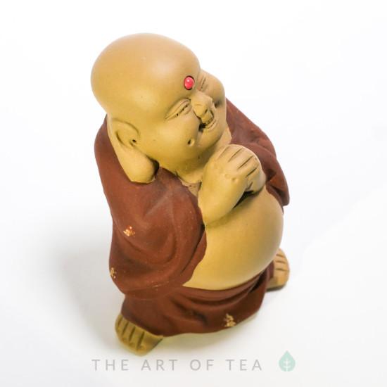 Чайная фигурка Щедрый Монах, глина
