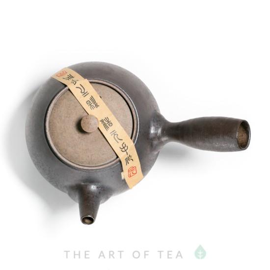 Чайник Лун Яо, с боковой ручкой, глина, 195 мл