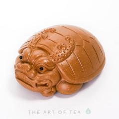 Чайная фигурка Броненосец, глина