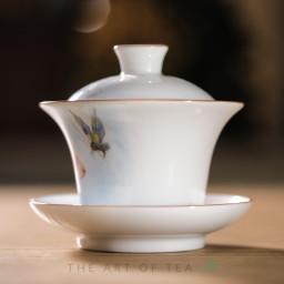 Гайвань Бабочка, фарфор, 150 мл
