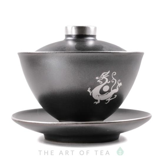 Гайвань Серебряный дракон, керамика