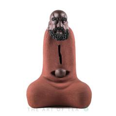 Фигурка Бодхи 170, глина, красный, 18 см